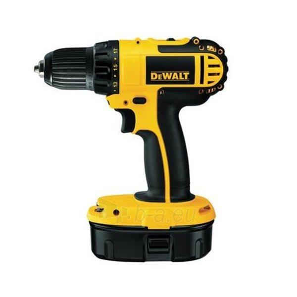 Cordless drill Screwdriver DeWALT DC720KA-QW Paveikslėlis 1 iš 1 300421000104