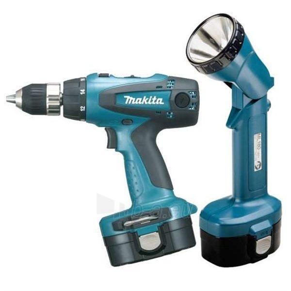 Cordless drill screwdriver Makita 6317DWDLE Paveikslėlis 1 iš 1 300421000193