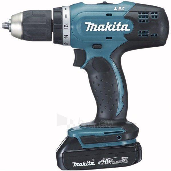 Cordless drill screwdriver Makita BDF453SHE Paveikslėlis 1 iš 1 300421000199