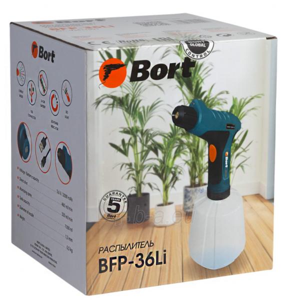 Akumuliatorinis purkštuvas BORT BFP-36-LI Paveikslėlis 4 iš 7 310820241027