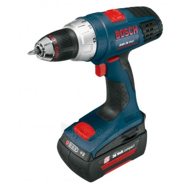 Cordless Impact Drill Bosch GSR 36 V-LI compact Paveikslėlis 1 iš 1 300421000228