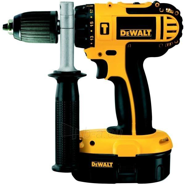 Cordless Impact Drill DeWALT DC725KB-QW Paveikslėlis 1 iš 1 300421000232