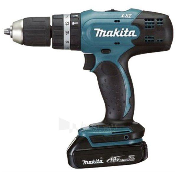 Cordless Impact Drill Makita BHP453SHE Paveikslėlis 1 iš 1 300421000253