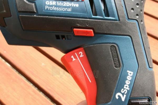 Akumuliatorinis suktuvas BOSCH GSR Mx2Drive Professional Paveikslėlis 3 iš 4 310820049251