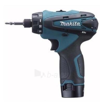 Cordless drill screwdriver Makita DF030DWE Paveikslėlis 1 iš 1 300421000069