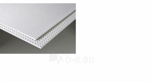 Akustinė plokštė Knauf Cleaneo 8/12/50 R (balta) 1998 x 1188 x 12,5 mm (2,373624 kv. m)