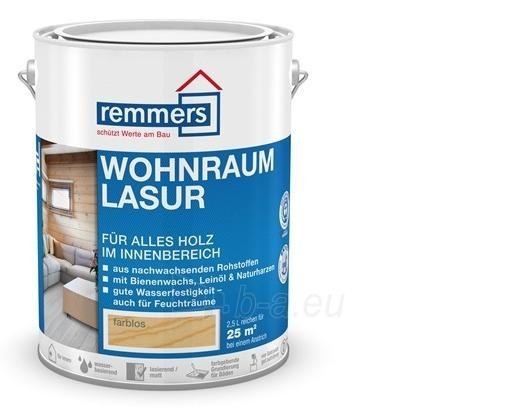 Aliejaus-vaško emulsija- Wohnraum-Lasur vidaus medienai 2,5 ltr Paveikslėlis 1 iš 2 236860000412