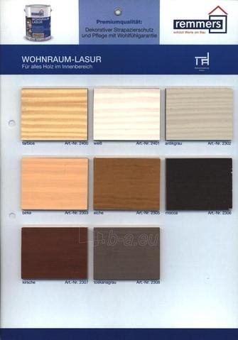Aliejaus-vaško emulsija- Wohnraum-Lasur vidaus medienai 2,5 ltr Paveikslėlis 2 iš 2 236860000412