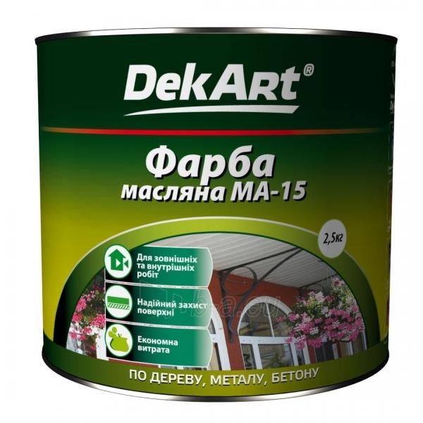 Aliejiniai dažai MA-15 DekART balti 1 kg Paveikslėlis 1 iš 1 236505000033