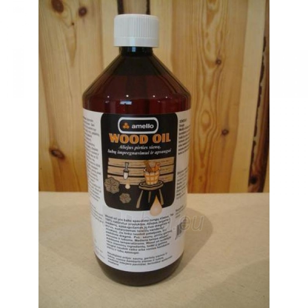 Aliejus Amello Wood Oil 1l Paveikslėlis 1 iš 1 310820037073