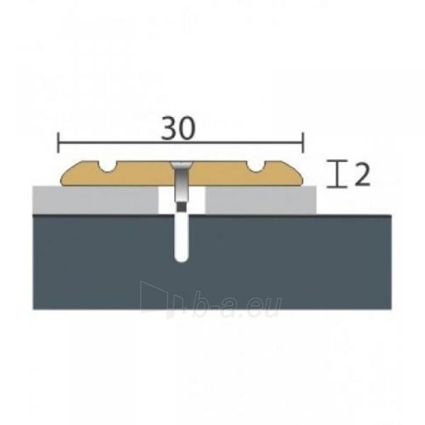 Aliuminio profilis P2 MAXI 93 cm aukso spalvos Paveikslėlis 1 iš 1 237712000610