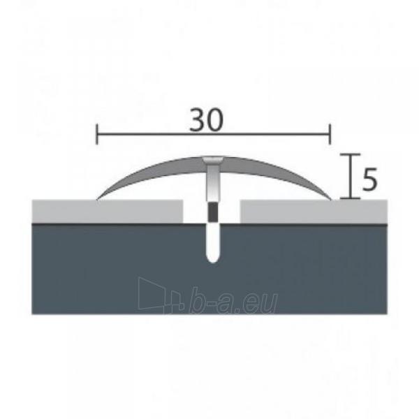 Aluminium profile    P3 MAXI 90 cm siver Paveikslėlis 1 iš 1 237712000613