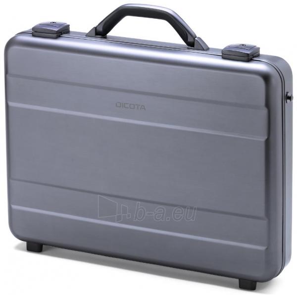Aliuminis lagaminas Dicota Alu Briefcase skirtas 15-17.3 neš. kompiuteriui Paveikslėlis 1 iš 4 250256202856