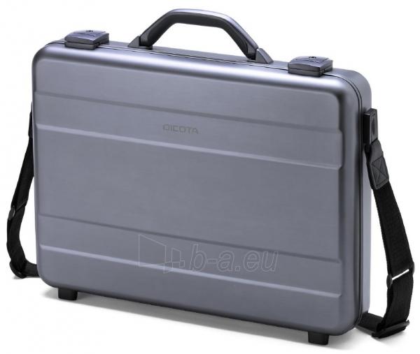 Aliuminis lagaminas Dicota Alu Briefcase skirtas 15-17.3 neš. kompiuteriui Paveikslėlis 2 iš 4 250256202856