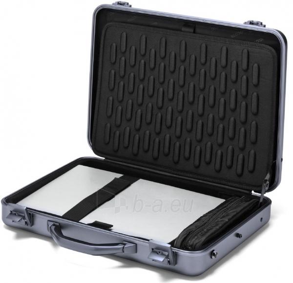 Aliuminis lagaminas Dicota Alu Briefcase skirtas 15-17.3 neš. kompiuteriui Paveikslėlis 4 iš 4 250256202856