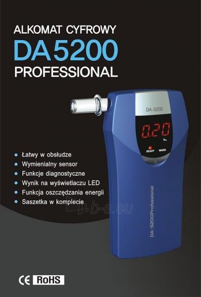 Alkotesteris AlcoFind DA5200 Professional Paveikslėlis 1 iš 2 310820039413