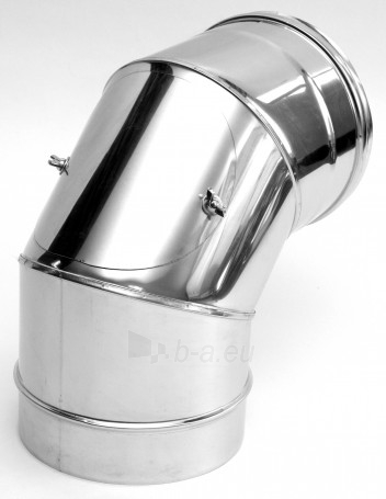Elbow - pravala NP 85', d=120 mm Paveikslėlis 1 iš 1 30005600823