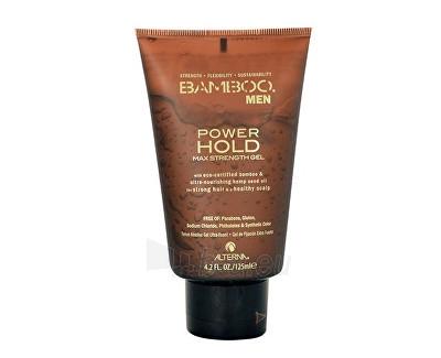 Alterna Bamboo Men Power Hold Max Strength Gel Cosmetic 125ml Paveikslėlis 1 iš 1 310820010289