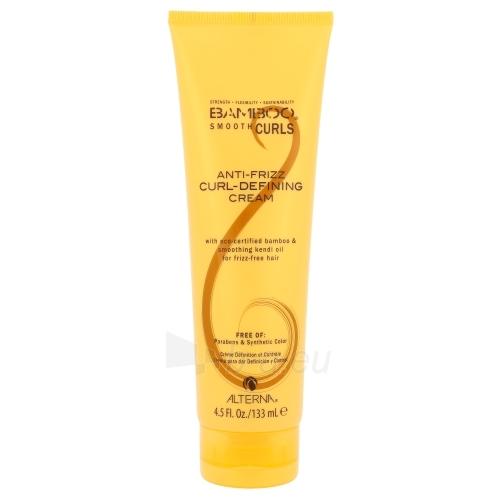 Alterna Bamboo Smooth Curls Anti-Frizz Curl-Defining Cream Cosmetic 133ml Paveikslėlis 1 iš 1 310820010286