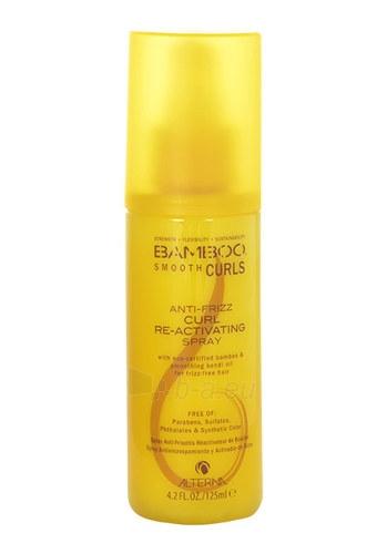 Alterna Bamboo Smooth Curls Anti-Frizz Re-Activating Spray Cosmetic 125ml Paveikslėlis 1 iš 1 310820010282