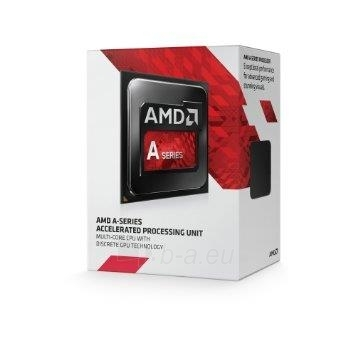 AMD procesor APU A4-7300, Socket FM2, Dual-Core 3.8 GHz, L2 Cache 1MB, 65W, BOX Paveikslėlis 1 iš 1 250255041724