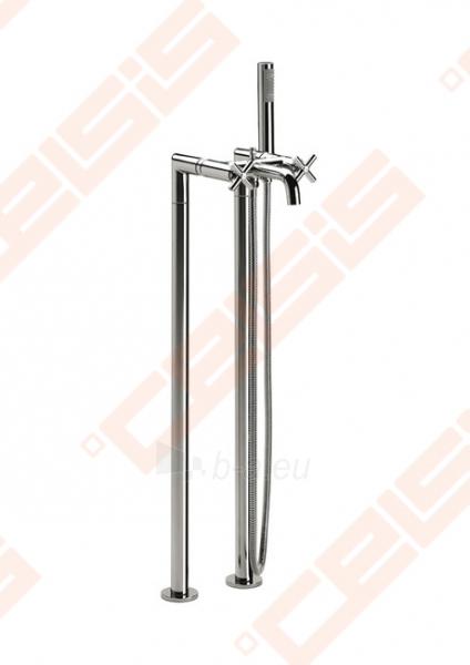 Ant grindų montuojamas vonios/dušo maišytuvas ROCA Loft Paveikslėlis 2 iš 8 270721000546