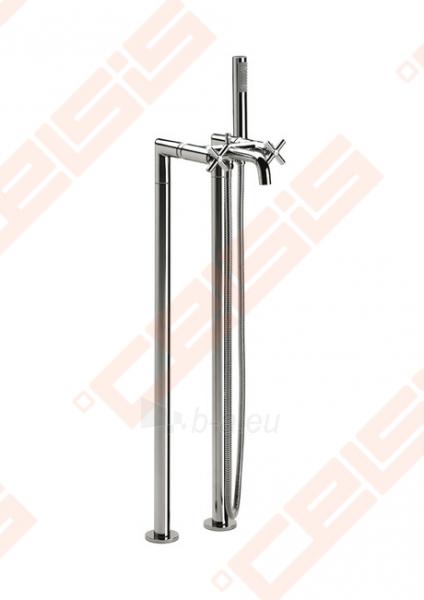 Ant grindų montuojamas vonios/dušo maišytuvas ROCA Loft Paveikslėlis 1 iš 8 270721000546