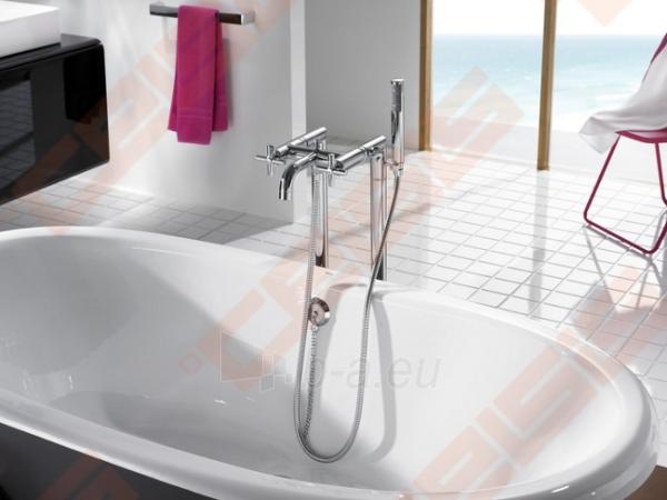 Ant grindų montuojamas vonios/dušo maišytuvas ROCA Loft Paveikslėlis 7 iš 8 270721000546
