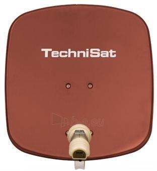 Antena TechniSat TV Sat DigiDish 45 Single Plytų raudonumo spalva Paveikslėlis 1 iš 2 30006000045