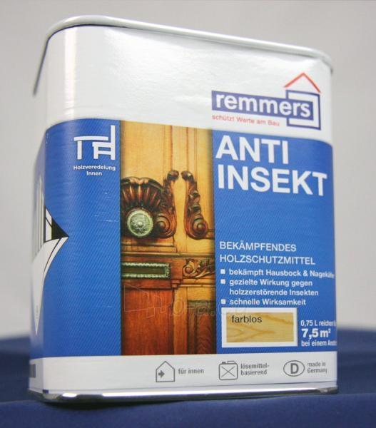 Medienos apsaugos priemonė prieš kinvarpas Anti Insekt - 0,75ltr Paveikslėlis 1 iš 1 236640000086