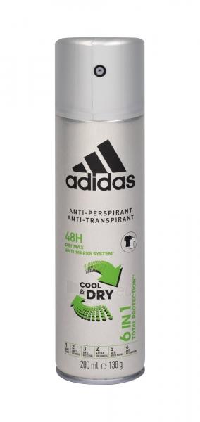 Antiperspirantas Adidas 6in1 Cool & Dry 48h 200ml Paveikslėlis 1 iš 1 310820201963