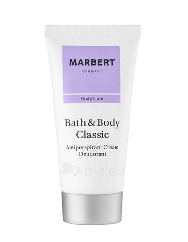 Antiperspirantas Marbert Bath & Body Classic Antiperspirant 50ml (pažeista pakuotė) Paveikslėlis 1 iš 1 2508910000806
