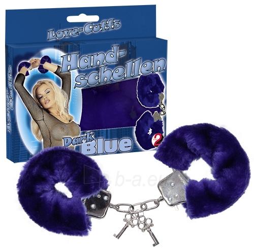 Antrankiai Handcuffs Love Cuffs blue Paveikslėlis 1 iš 1 310820021637