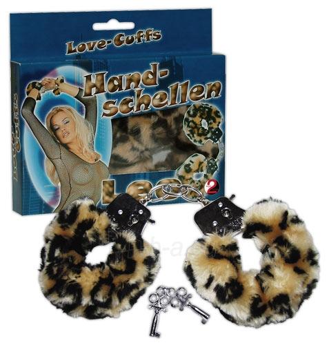 Antrankiai Handcuffs Love Cuffs leo Paveikslėlis 1 iš 1 310820021640