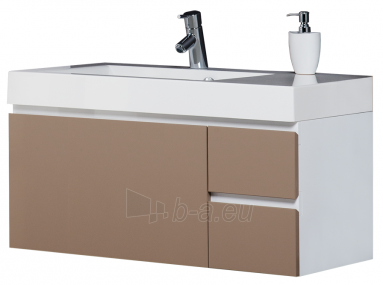 The lower cabinet without washer EUMAR EEA90-SR, light brown Paveikslėlis 1 iš 1 250401000184