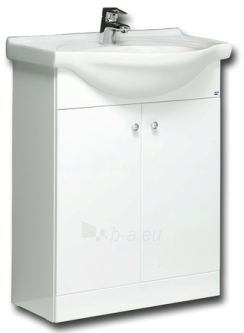 The lower cabinet with wash basin 65 cm PERLAS VA65-1 Paveikslėlis 1 iš 1 250401000208