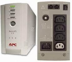 APC Back-UPS CS 350VA Paveikslėlis 1 iš 1 250254300908