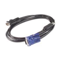 APC KVM USB Cable - 7.6 m Paveikslėlis 1 iš 1 250257600052