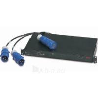 APC Rack ATS, 16A, 230V, (2)IEC 309 in, (1)IEC 309 out Paveikslėlis 1 iš 1 250257600055