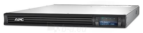 APC Smart-UPS 1500VA LCD RM 1U 230V Paveikslėlis 1 iš 2 250254300656