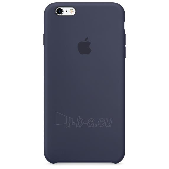 Apple iPhone 6s Plus silikoninis dėklas Midnight Blue Paveikslėlis 1 iš 3 310820042111