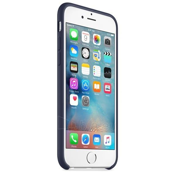 Apple iPhone 6s silikoninis dėklas Midnight Blue Paveikslėlis 3 iš 3 310820041772