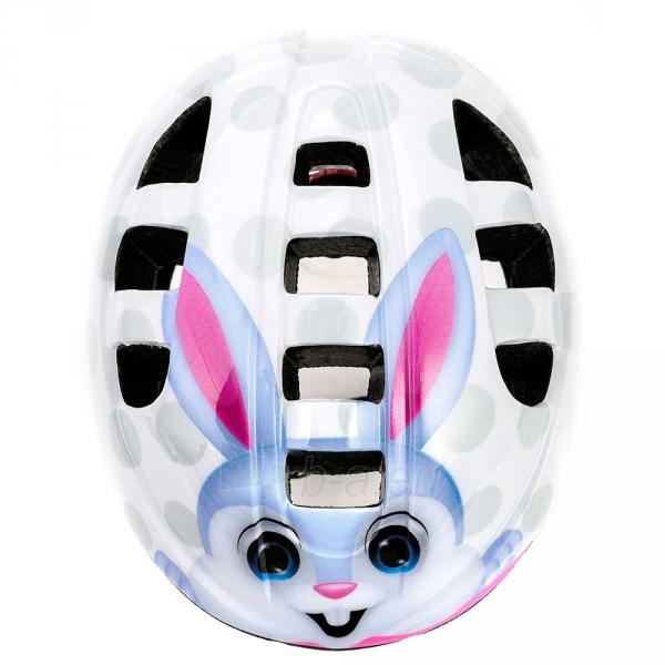Apsauginis šalmas METEOR MA-2 bunny Paveikslėlis 2 iš 6 310820178199