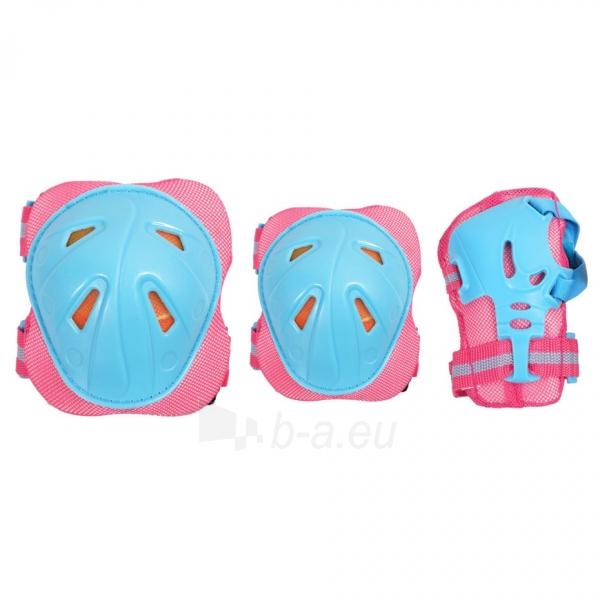 Apsaugų rinkinys SMJ CR-368 Girl blue-pink Paveikslėlis 1 iš 4 310820218718