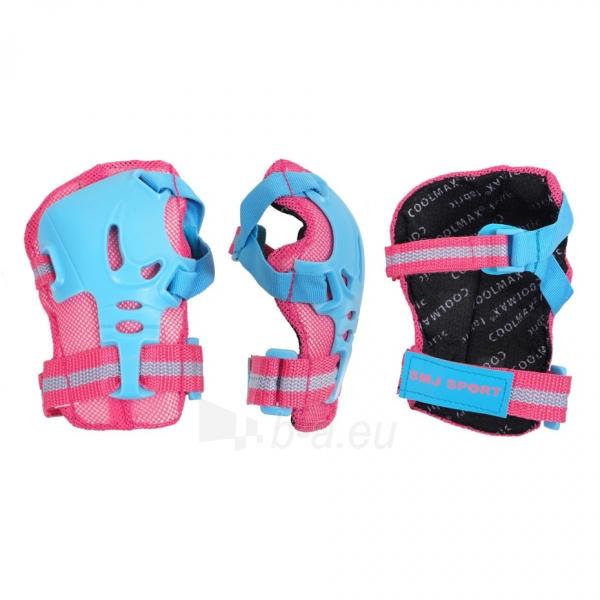 Apsaugų rinkinys SMJ CR-368 Girl blue-pink Paveikslėlis 2 iš 4 310820218718