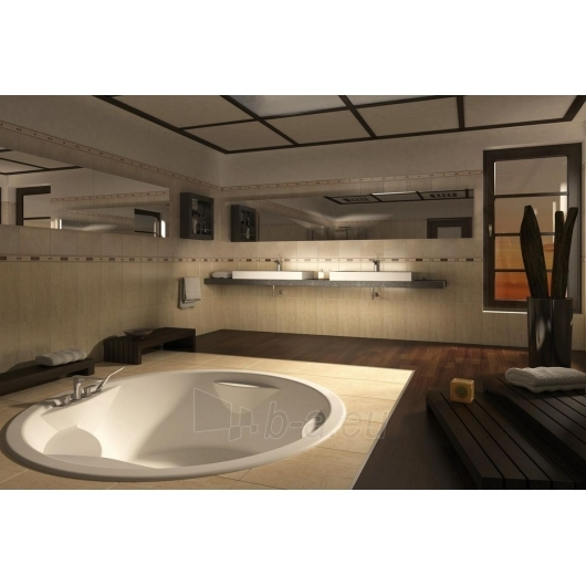 Apvali akrilinė vonia PAA RONDO Paveikslėlis 3 iš 8 310820126637