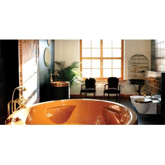 Apvali akrilinė vonia PAA RONDO Paveikslėlis 5 iš 8 310820126637