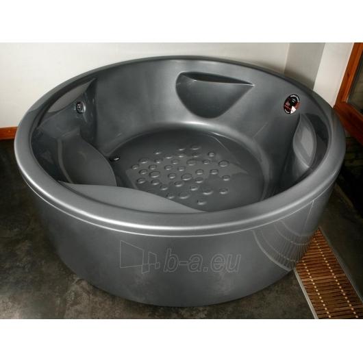 Apvali akrilinė vonia PAA RONDO Paveikslėlis 6 iš 8 310820126637