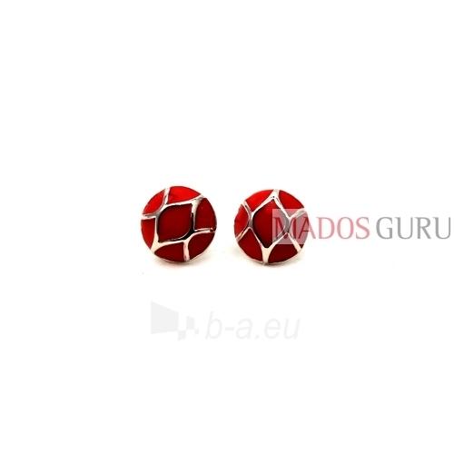 Round earrings A149 Paveikslėlis 1 iš 1 30070000129