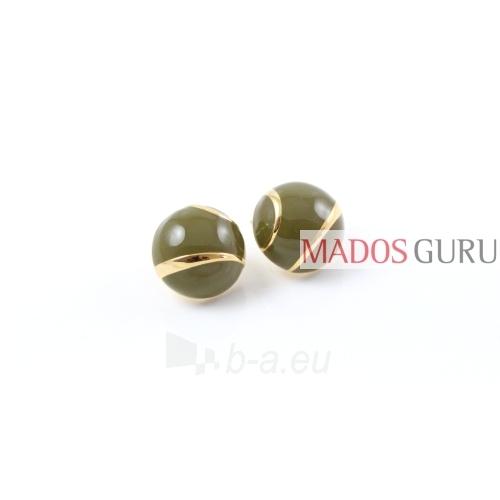Round earrings A2801 Paveikslėlis 1 iš 1 30070000310